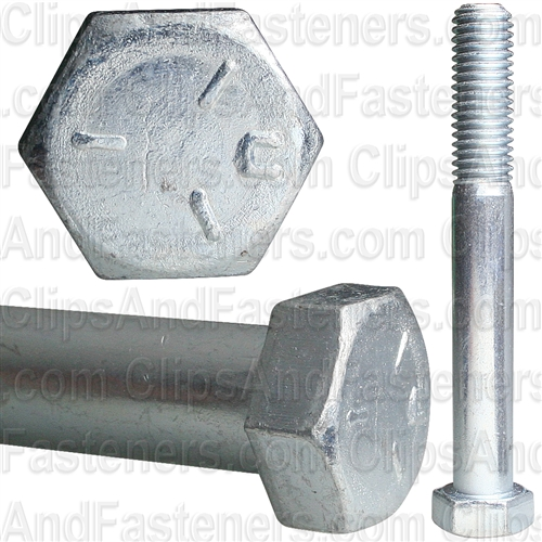 1/2-13 X 4 Grade 5 Cap Screw Zinc