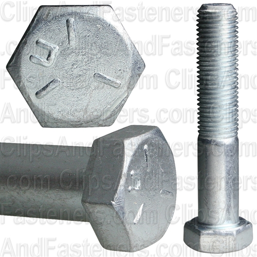 3/8-24 X 2 Grade 5 Cap Screw Zinc