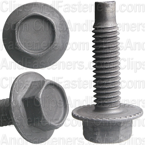 "5/16""-18 X 1-1/4"" Hex Washer Head Spin Lock Bolts"