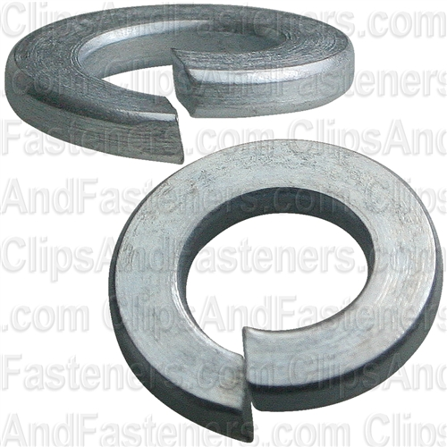"5/16"" Grade 5 Spring Type Lock Washer Zinc"
