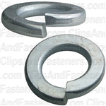 "7/16"" Grade 5 Spring Type Lock Washer Zinc"