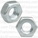 1/4-20 Hex Machine Screw Nut Zinc