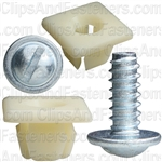 Nylon Nut & Screw Assembly