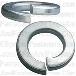 "9/16"" Grade 5 Spring Type Lock Washer Zinc"