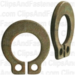 "1/4"" External Grip Rings Zinc"