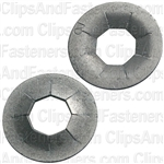 ".240"" Stud Flat Push-On Retainer 17/32"" O.D."