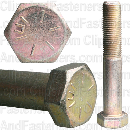 1/2-20 X 3 Gr 8 Cap Screw Alloy Zinc