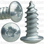 "8-18 X 7/16"" Phillips Washer Head Tap Screw Pozi-Drive"