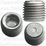 "1/4""-18 Hex Socket Head Pipe Plug"