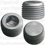 "3/8""-18 Hex Socket Head Pipe Plug"