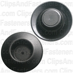 Plastic Plug Button W/Dep Ctr 1/2 Hole