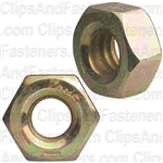 1/4-20 Gr.8 Hex Nut Zinc High Alloy
