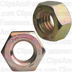 5/16-18 Gr. 8 Hex Nut Zinc High Alloy