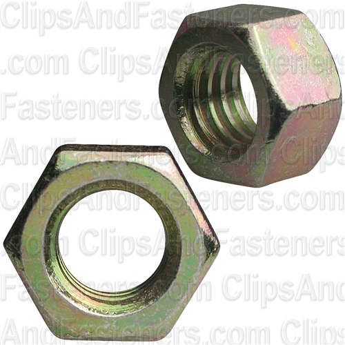 3/8-16 Gr. 8 Hex Nut Zinc High Alloy