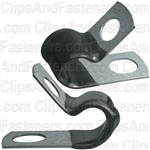 Closed Clamp 5/16 Small- Galvanized Vinyl Coated