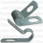 Closed Clamp 1/4 - Galvanized Uncoated