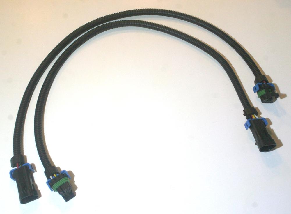 2 Front Oxygen O2 Sensor Extension Cables 24 U0026quot  Gm Corvette