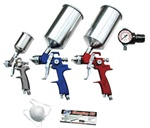 ATD 9-Piece HVLP Spray Gun Set