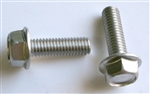 M 6 - 1.0 x 16mm A2-70 Stainless Hex Flange Bolts