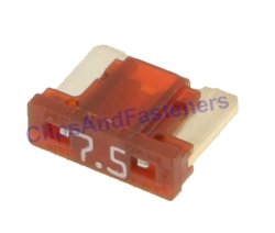 Low Profile ATM Mini Fuse - 7.5 Amps Brown