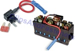 ATM Mini-Fuse Tapa Circuit Dual Fuse Holder