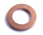 Copper Washer 8mm I.D. 14mm O.D. 1.5mm Thick