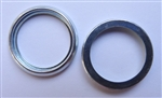 Steel Crush Washer 16mm I.D. 21mm O.D. 2mm Thick