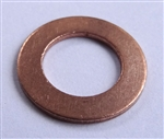 Copper Drain Plug Gaskets 8mm X 14mm X 1.0mm