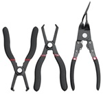 3 Pc. Body Clip Plier Set