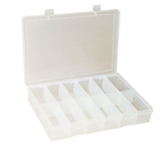12 Compartment Large Plastic Box