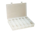 18 Compartment Large Plastic Box