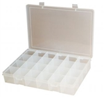 24 Compartment Large Plastic Box