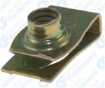 "1/4"" - 20 Extruded U Nuts Yellow Dichromate Finish"