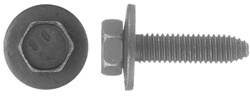 6 - 1.00 X 25mm Metric Type Ca Body Bolts 10mm Hex