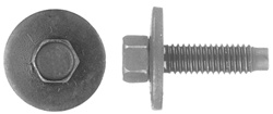 6 - 1.00 X 22mm Metric Dog Point Body Bolts 8mm Hex