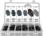 42 Pc. Window Guide Retainer Assortment
