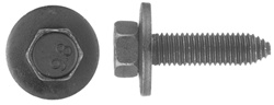 10 - 1.50 X 40mm Metric Type Ca Body Bolts 15mm Hex