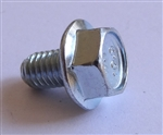 (25) M 6 - 1.0 x 10mm  JIS Hex Head Flange Bolt - Small Head, Class 10.9 Zinc.  JIS B 1189