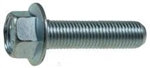 M 6 - 1.0 x 16mm  JIS Hex Head Flange Bolt - Small Head, Class 10.9 Zinc.  JIS B 1189
