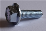 (25) M 6 - 1.0 x 20mm  JIS Hex Head Flange Bolt - Small Head, Class 10.9 Zinc.  JIS B 1189