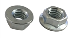 25 M 8 - 1.25 JIS Hexagon Flange Nut - Non Serrated - Small Hex Class 8 Zinc. JIS B 1190