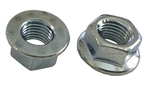 25 M10 - 1.25 JIS Hexagon Flange Nut - Non Serrated - Small Hex Class 8 Zinc. JIS B 1190
