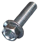 M8 - 1.25 x 25mm  Hex Flange Bolt Large O.D. Class 10.9 Zinc IFI 536