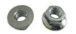 10 M12 - 1.75 Hexagon Flange Nut - Non-Serrated Class 10 Zinc. DIN 6923 / ISO 4161
