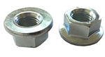 M14 - 1.5 Hexagon Flange Nut - Non-Serrated Class 10 Zinc. DIN 6923 / ISO 4161