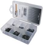 90 Piece E Clip Assortment in Plastic Kit