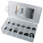 82 Piece O'Ring Assortment in Plastic Kit