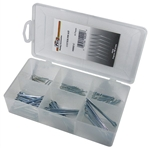80 Piece Cotter Pin Assortment in Plastic Kit