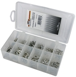 185 Piece Uninsulated Solderless Terminal Assortment