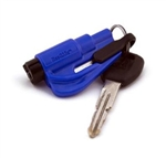 Res Q Me Emergency Rescue Escape Tool Keychain Blue